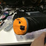 Test controller made of clay foam