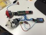 ATtiny84 prototype compared to Bluefruit prototype